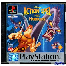DISNEYS ACTION SPEL MED HERKULES PS1
