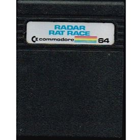 RADAR RAT RACE C64 CARTRIDGE