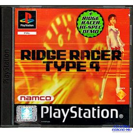RIDGE RACER TYPE 4 + RIDGE RACER HI-SPEC DEMO PS1