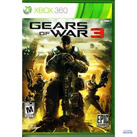 GEARS OF WAR 3 XBOX 360 NTSC USA