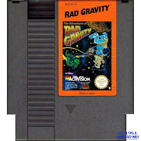 THE ADVENTURE OF RAD GRAVITY NES SCN