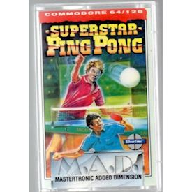 SUPERSTAR PING PONG C64 TAPE