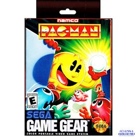 PAC-MAN GAME GEAR
