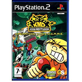 KND KIDS NEXT DOOR OPERATION VIDEOGAME PS2