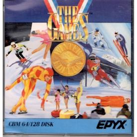 THE GAMES WINTER EDITION C64 DISK