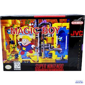 MAGIC BOY SNES USA