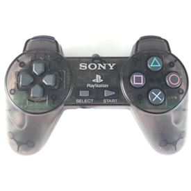 PLAYSTATION CONTROLL PAD PS1 CLEAR SVART