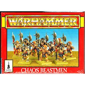 CHAOS BEASTMEN WARHAMMER GAMES WORKSHOP 1994