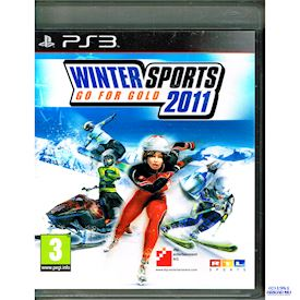 WINTER SPORTS 2011 GO FOR GOLD PS3