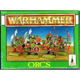ORCS WARHAMMER GAMES WORKSHOP 1994