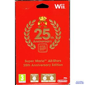 SUPER MARIO ALL-STARS 25TH ANNIVERSARY EDITION WII