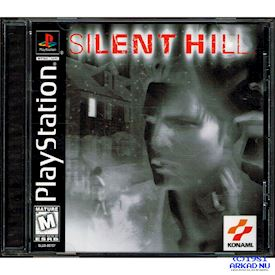SILENT HILL PS1 NTSC USA BLACK LABEL