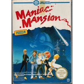 MANIAC MANSION NES SCN