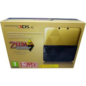 NINTENDO 3DS XL THE LEGEND OF ZELDA A LINK BETWEEN WORLDS LIMITED EDITION SCN