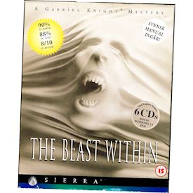 GABRIEL KNIGHT 2 THE BEAST WITHIN PC