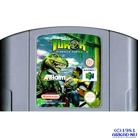 TUROK DINOSAUR HUNTER N64
