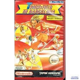 TRACK & FIELD IN BARCELONA NES YAPON HYRBOX