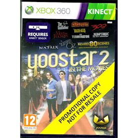 YOOSTAR 2 IN THE MOVIES XBOX 360
