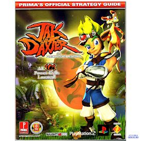 JAK AND DAXTER THE PRECURSOR LEGACY PRIMAS OFFICIAL STRATEGY GUIDE