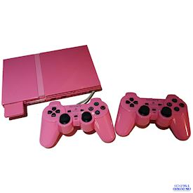 PS2 SLIM PINK LIMITED EDITION