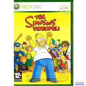 THE SIMPSONS VIDEOPELI XBOX 360
