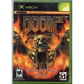 DOOM 3 RESURRECTION OF EVIL XBOX NTSC