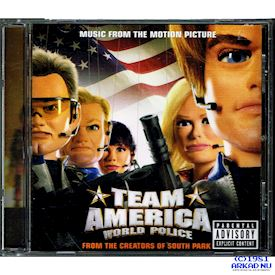 TEAM AMERICA WORLD POLICE SOUNDTRACK CD