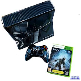 XBOX 360 SLIM 320GB HALO 4 LIMITED EDITION BUNDLE