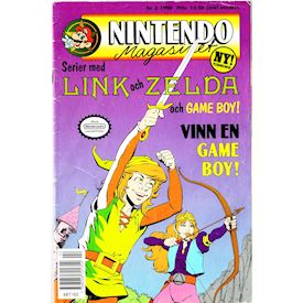 NINTENDO MAGASINET NR 2 1990