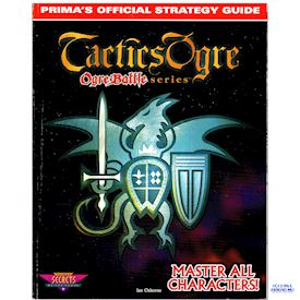 TACTICS OGRE PRIMAS OFFICIAL STRATEGY GUIDE