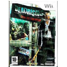 DEAD RISING CHOP TILL YOU DROP WII