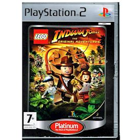 LEGO INDIANA JONES THE ORIGINAL ADVENTURES PS2