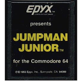 JUMPMAN JUNIOR C64 CARTRIDGE