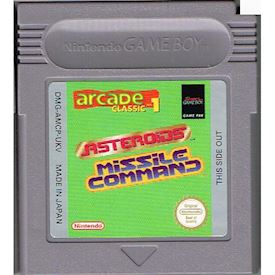 ARCADE CLASSICS 1 ASTEROIDS & MISSILE COMMAND GAMEBOY