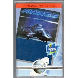 AIRWOLF C64 TAPE
