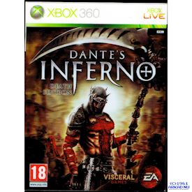 DANTES INFERNO DEATH EDITION XBOX 360