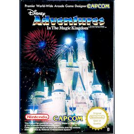 DISNEY ADVENTURE IN THE MAGIC KINGDOM NES