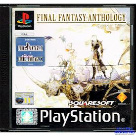 FINAL FANTASY ANTHOLOGY EUROPEAN EDITION PS1