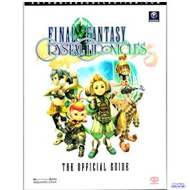 FINAL FANTASY CRYSTAL CHRONICLES THE OFFICIAL GUIDE PIGGYBACK