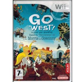 LUCKY LUKE GO WEST WII