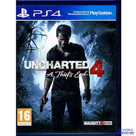 UNCHARTED 4 A THIEFES END PS4