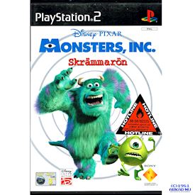 MONSTERS INC SKRÄMMARÖN PS2