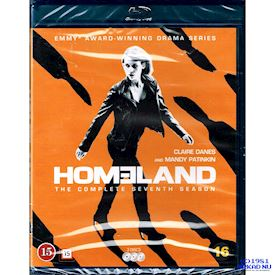 HOMELAND THE COMPLETE SEVENTH SEASON BLU-RAY