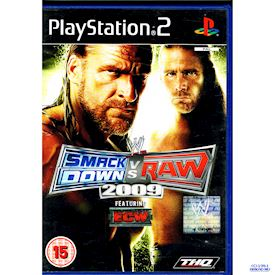 WWE SMACKDOWN VS RAW 2009 PS2