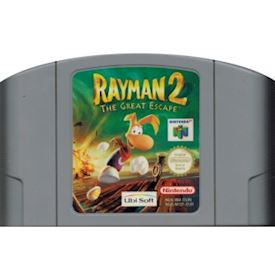 RAYMAN 2 THE GREAT ESCAPE N64