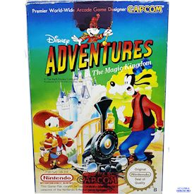 DISNEY ADVENTURE IN THE MAGIC KINGDOM NES SCN