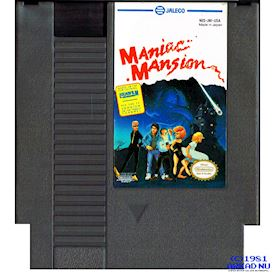 MANIAC MANSION NES REV-A USA