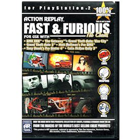 ACTION REPLAY FAST & FURIOUS THE CHEATS PS2