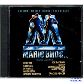 SUPER MARIO BROS SOUNDTRACK CD