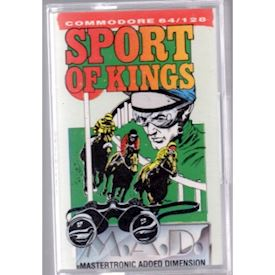 SPORT OF KINGS C64 TAPE
